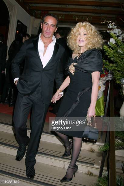 Lloyd Klein and Jocelyne Wildenstein during Catherine Deneuve and The French Institute Alliance Francaise Host La Nuit Des Etoiles a French Film...