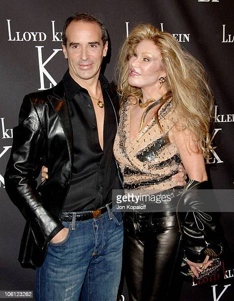 Lloyd Klein and Jocelyne Wildenstein during Lloyd Klein Flagship Store Opening November 14 2006 at Lloyd Klein Flagship Store in Los Angeles...