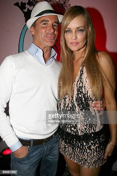 Lloyd Klein and Verina Marcel at the Erika Jayne Album release Party for Pretty Mess at Coco de Mer on August 20 2009 in West Hollywood California