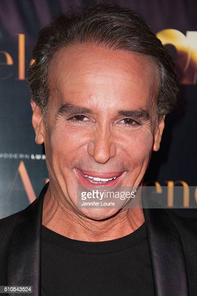 Lloyd Klein arrives at the 2016 City Gala Fundraiser at The Playboy Mansion on February 15 2016 in Los Angeles California