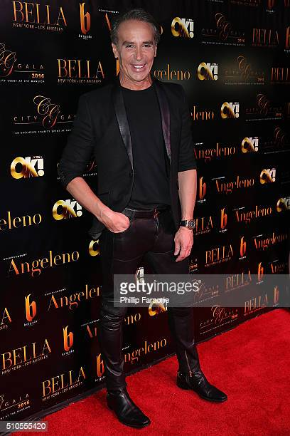 Lloyd Klein attends the City Gala Fundraiser 2016 at The Playboy Mansion on February 15 2016 in Los Angeles California