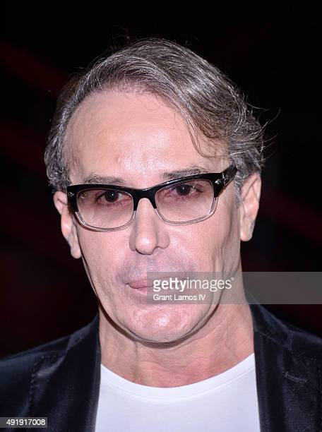 Lloyd Klein attends the JeanYves Klein Chimeras Exhibition at Gallery Molly Krom on October 8 2015 in New York City