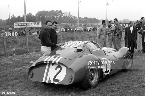 Lloyd 'Lucky' Casner Maserati Tipo 151/3 24 Hours of Le Mans Le Mans 16 June 1963 The Giulio Alfieri designed Maserati Tipo 151 rumored to be the...
