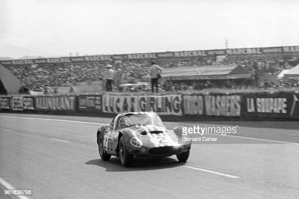 Lloyd 'Lucky' Casner Maserati Tipo 151/3 24 Hours of Le Mans Le Mans 16 June 1963