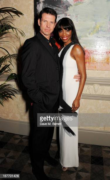 Lloyd Owen and Heather Headley attend an after party celebrating the press night performance of 'The Bodyguard' at on December 5 2012 in London...