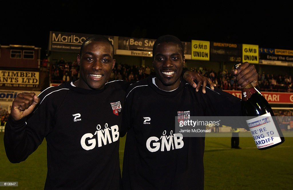 Lloyd Owusu, Darren Powell : News Photo