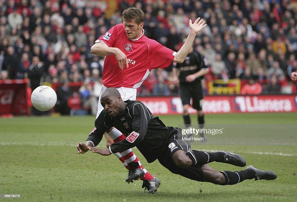 FA Cup: Charlton Athletic v Brentford : News Photo