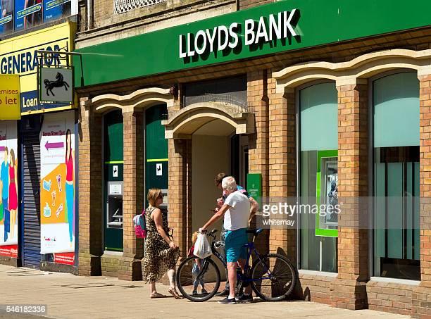 Lloyds Bank branch in Lowestoft