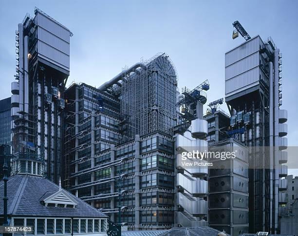 Lloyds Building London United Kingdom Architect Richard Rogers Partnership Lloyds Building