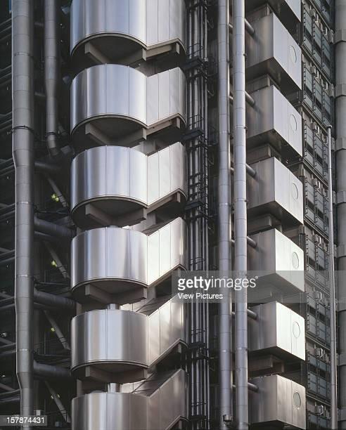 Lloyds Building London United Kingdom Architect Richard Rogers Partnership Lloyds Building Exterior Detail