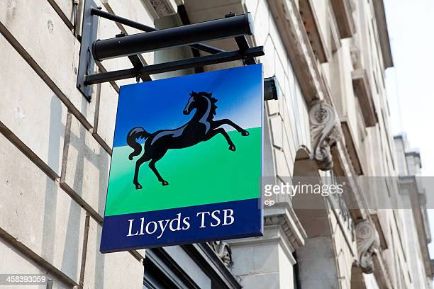 Lloyds TSB High Street Bank Sign