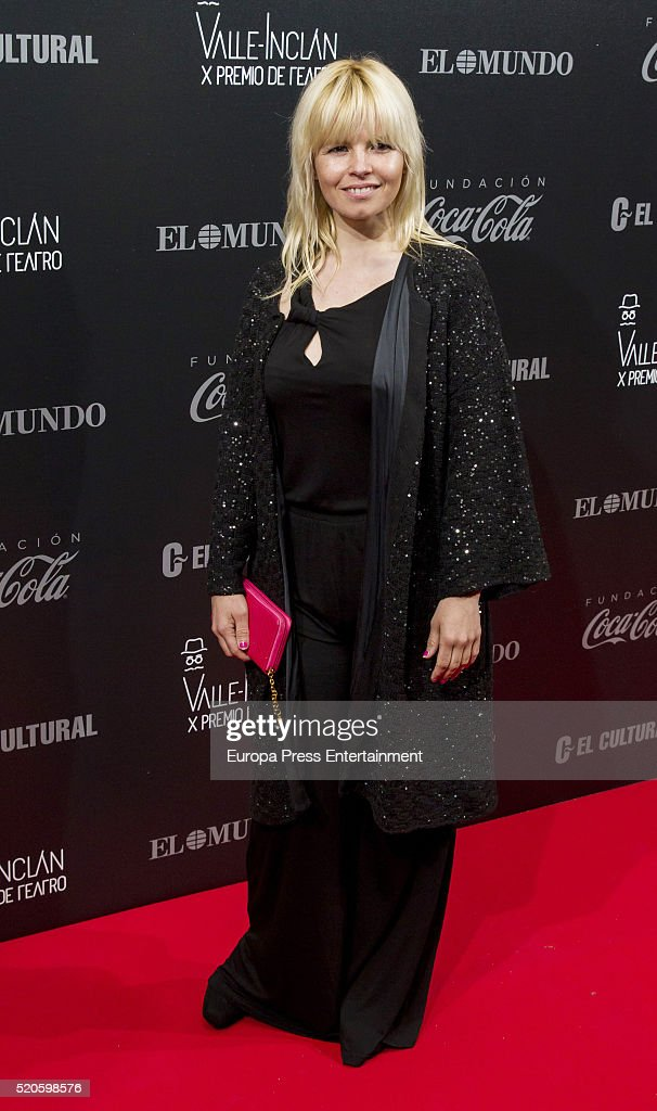 Lluvia Rojo attends the Valle-Inclan Theatre Awards at Teatro Real on April 11, 2016 in Madrid, Spain.