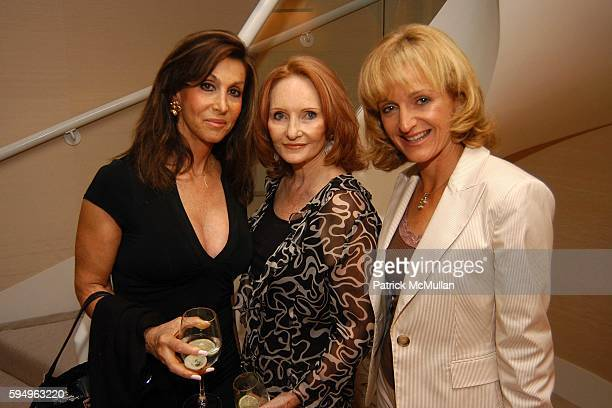 Llyn Bank Mary Skillern and Ann Liguori attend House Garden Celebrates it's October Issue featuring the Home of Andrea John Stark at East 57th Street...