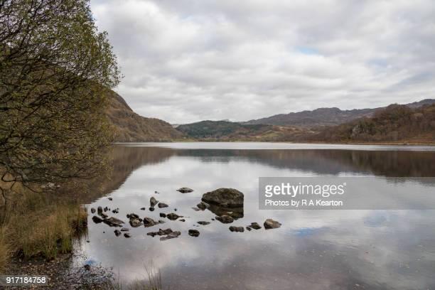 Llyn Dinas, Snowdonia national park, Wales