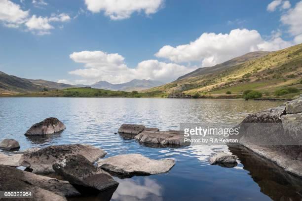 Llynnau mymbyr and Mount Snowdon, Snowdonia, North Wales
