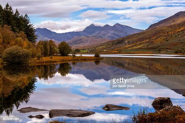 Llynnau Mymbyr, Capel Curig, Snowdonia, Wales