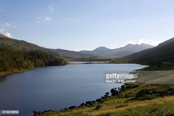 Llynnau Mymbyr Lakes, Snowdonia, Wales UK.