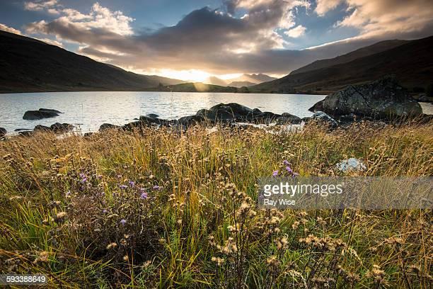 Llynnau Mymbyr sunset