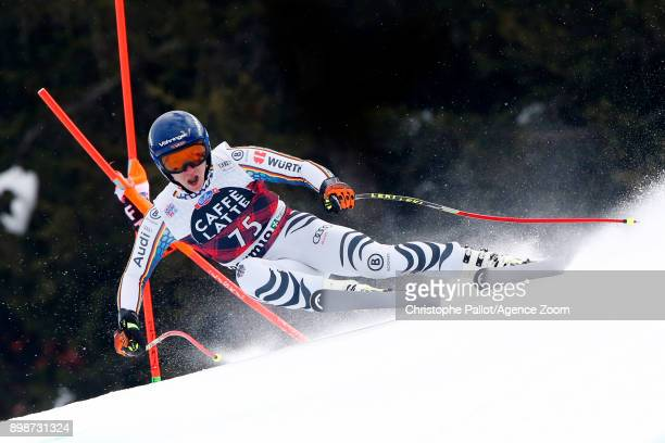 Längst Heiner of Germany in action during the Audi FIS Alpine Ski World Cup Men's Downhill Training on December 26 2017 in Bormio Italy