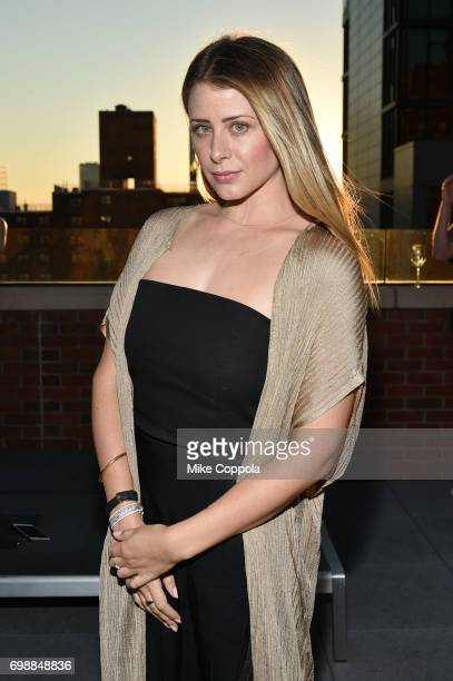 Lo Bosworth attends the amfAR generationCURE Solstice 2017 at Mr Purple on June 20 2017 in New York City