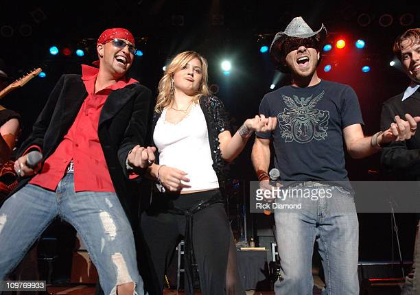 Lo Cash Cowboys with Presley Tucker during Country Music Legend Tanya Tucker Celebrates the Launch of Her New TLC Series Tuckerville at Wildhorse...
