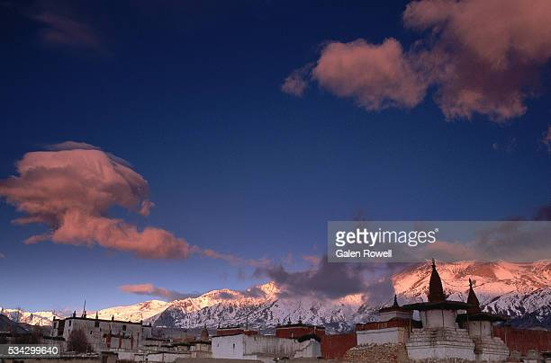 Lo Manthang and Surrounding Mountains, Nepal