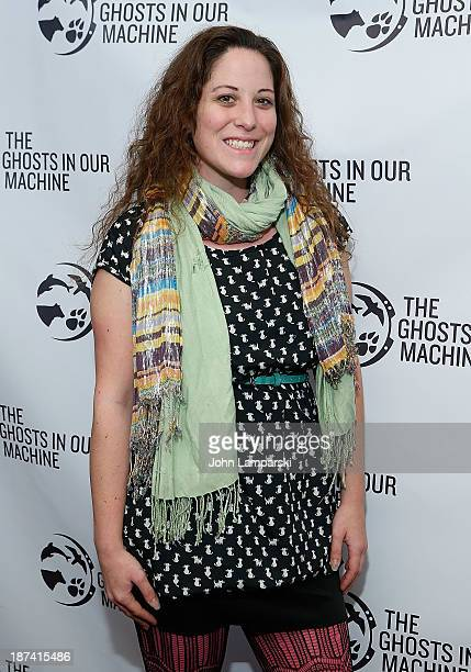 """Lo Vee attends The Ghost In Our Machine"""" New York Screening at Village East Cinema on November 8, 2013 in New York City."""