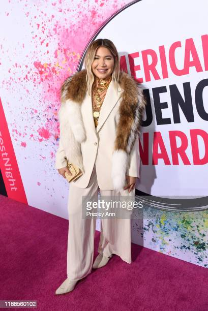 Lo Wheeler Davis attends the 2nd Annual American Influencer Awards at Dolby Theatre on November 18 2019 in Hollywood California