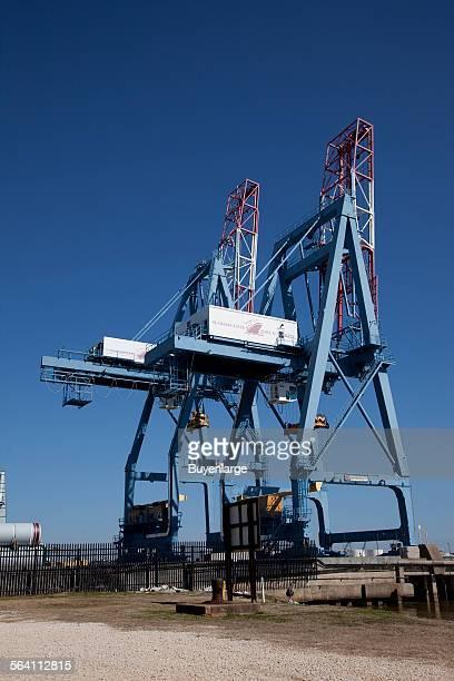 Loading docks Port Authority Mobile Alabama
