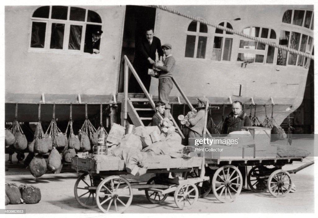 Loading Provisions, Zeppelin LZ 127 Graf Zeppelin, 1933
