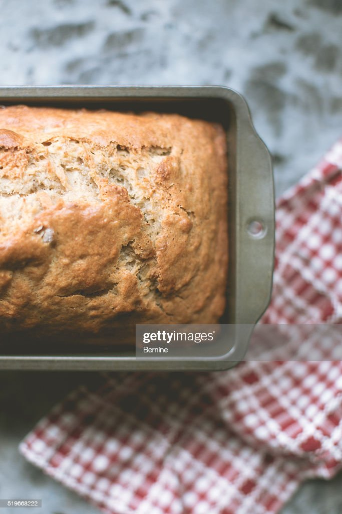 Loaf of Banana Bread : Stock Photo