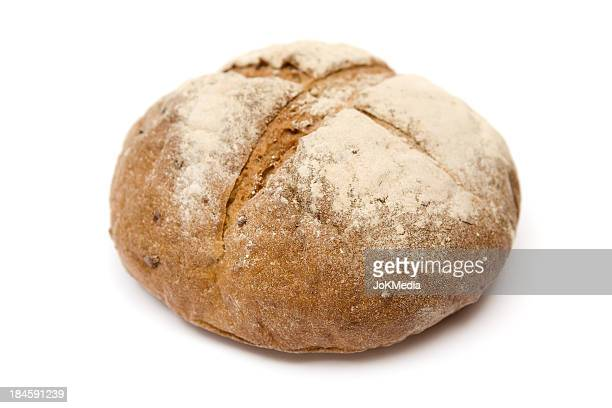 Loaf Of Bread Isolated On A White Background