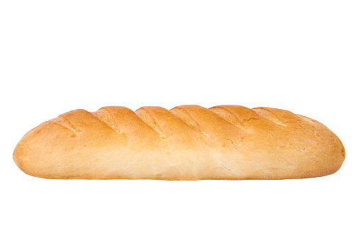 Loaf of bread on white background - gettyimageskorea