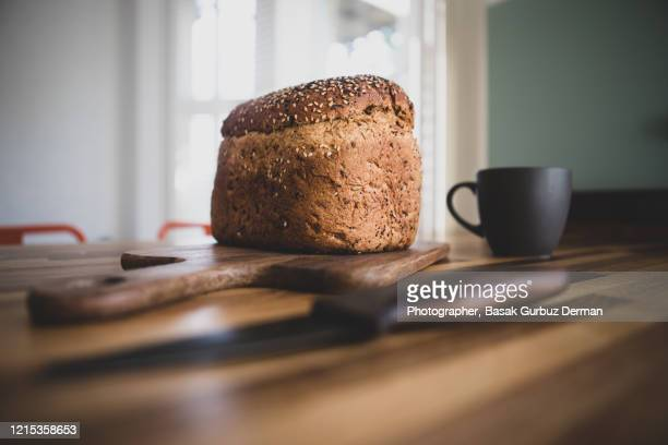 loaf of bread - bread stock pictures, royalty-free photos & images