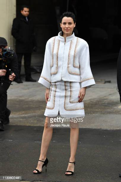 Loan Chabanol attends the Chanel show as part of the Paris Fashion Week Womenswear Fall/Winter 2019/2020 on March 05 2019 in Paris France