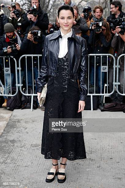 Loan Chabanol attends the Chanel show as part of the Paris Fashion Week Womenswear Fall/Winter 2015/2016 on March 10 2015 in Paris France