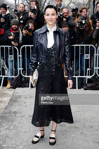 Loan Chabanol attends the Chanel show as part of the Paris Fashion Week Womenswear Fall/Winter 2015/2016 on March 10, 2015 in Paris, France.