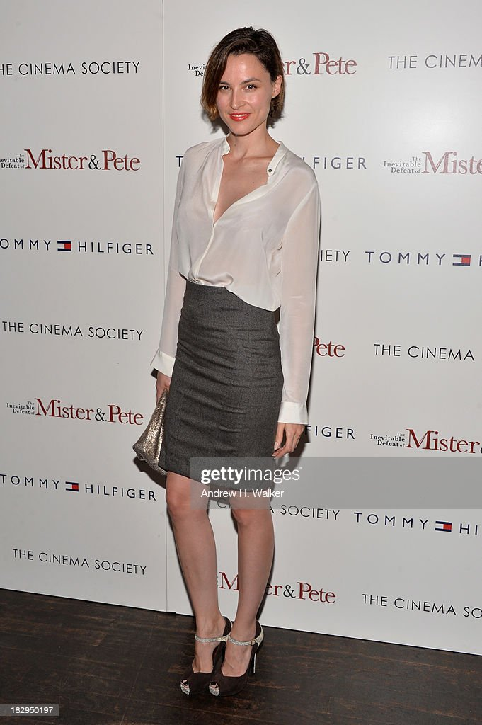 """The Cinema Society & Tommy Hilfiger Host A Screening Of """"The Inevitable Defeat Of Mister & Pete"""" : News Photo"""