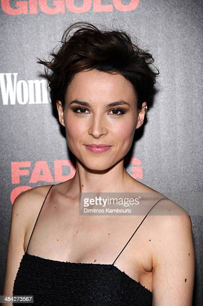 Loan Chabanol attends The Cinema Society Women's Health screening of Millennium Entertainment's Fading Gigoloat SVA Theater on April 11 2014 in New...