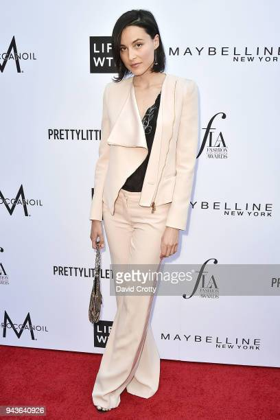 Loan Chabanol attends The Daily Front Row's 4th Annual Fashion Los Angeles Awards Arrivals at The Beverly Hills Hotel on April 8 2018 in Beverly...