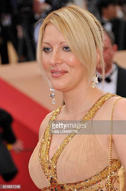 Loana attends the premiere of 'Vengeance' during the 62nd Cannes Film Festival