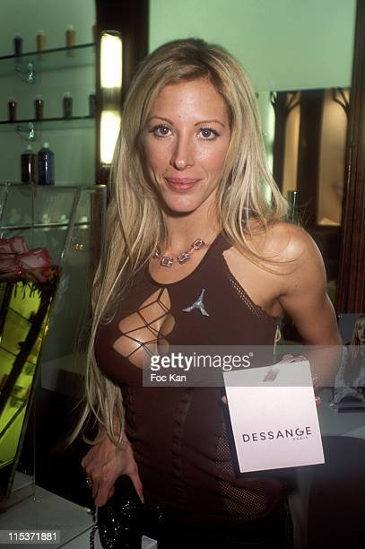 Loana during Jacues Dessange Institute Birthday Party at Jacques Dessange Franklin Roosevelt in Paris France