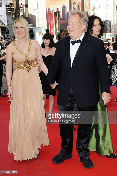 Loana Gelin and Massimo Gargia attend the Vengeance Premiere at the Palais Des Festivals during the 62nd International Cannes Film Festival on May 17...