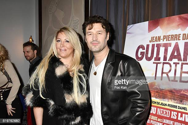 Loana Petrucciani and Golden disc awarded Jean Pierre Danel attend 'Guitar Tribute' by Golden disc awarded Jean Pierre Danel at Hotel Burgundy on...