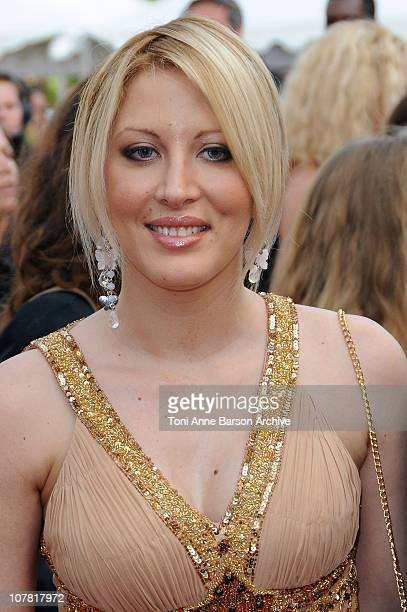 Loana Petrucciani attends the Vengeance Premiere at the Grand Theatre Lumiere during the 62nd Annual Cannes Film Festival on May 17 2009 in Cannes...