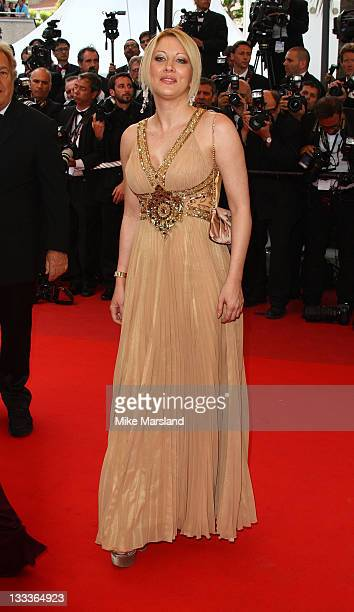 Loana Petrucciani attends the 'Vengeance' premiere at the Grand Theatre Lumiere during the 62nd Annual Cannes Film Festival on May 17 2009 in Cannes...