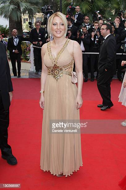 Loana Petrucciani attends the Vengence Premiere at the Grand Theatre Lumiere during the 62nd Annual Cannes Film Festival on May 17 2009 in Cannes...