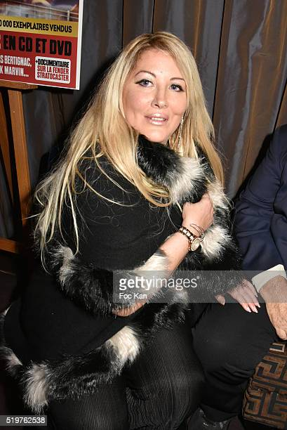 Loana Petrucciani from The Loft1 attends 'Guitar Tribute' by Golden disc awarded Jean Pierre Danel at Hotel Burgundy on April 7 2015 in Paris France