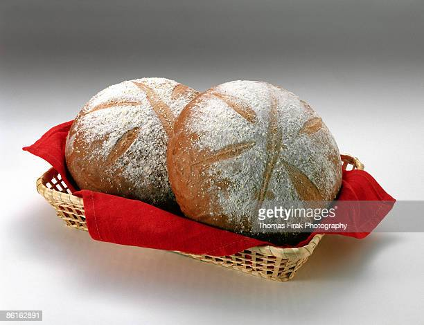 loaves of sourdough bread -  firak stock pictures, royalty-free photos & images