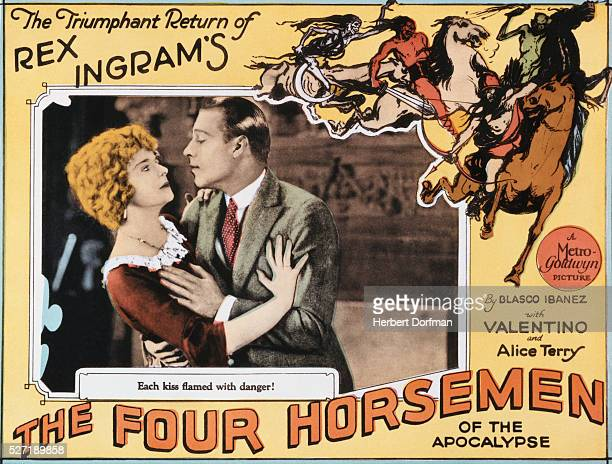 Lobby Card for The Four Horsemen of the Apocalypse
